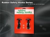 Rubber safety hooks