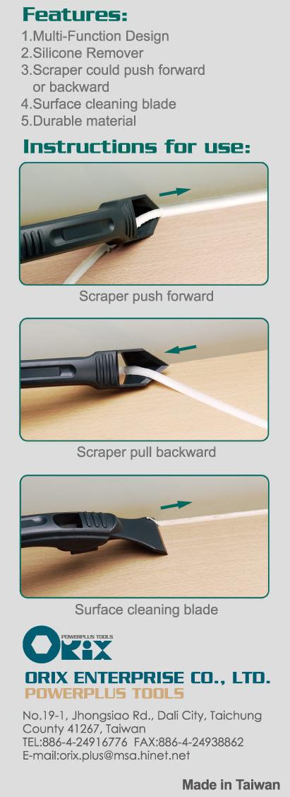 Silicone Scraper