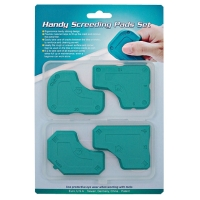 Handy Screeding Pads Set W/Plastic Cases