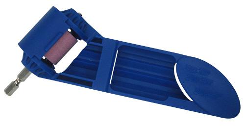 Durable Drill Bit Sharpener with 1/4-inch Hex Shank