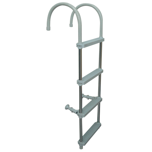 Aluminium Ladder (Plastic 4 Steps)