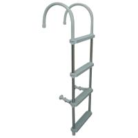 Aluminium Ladder (Plastic 4 Steps)