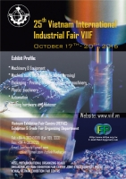 THE 25th VIETNAM INTERNATIONAL INDUSTRIAL FAIR