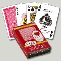 100%塑胶扑克牌