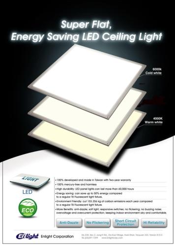 6060 Ultra Slim LED Panel Light
