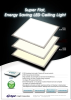 6060 超薄平面照明灯具