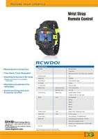 Cens.com Remote Control Watch - RCWD01 DXG TECHNOLOGY CORP.
