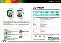 Cens.com Fitness tracker/ watch - DSW001 DXG TECHNOLOGY CORP.