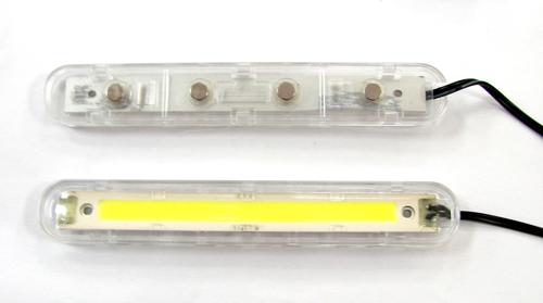 多功能高亮度日间行车安全灯 (白光/蓝光)