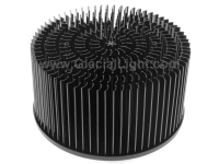 LED cold forged heatsink