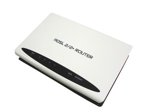 4 Ports ADSL2/2+ Router