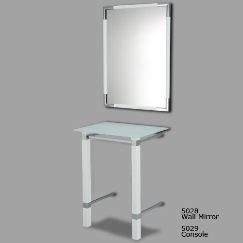 Wall Mirror & Console