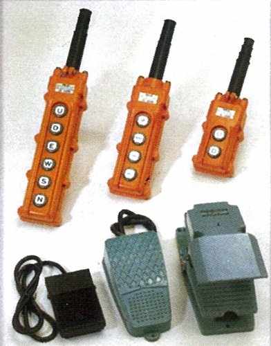 Hoist Push Button Switches & Foot Switeches