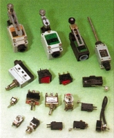 Micro Switches, Limit Switches & Toggle Switches.
