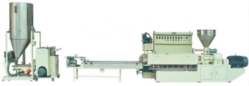 twin screw plastic pelletizing machine