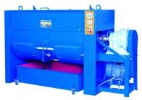 Horizontal dryer type mixer