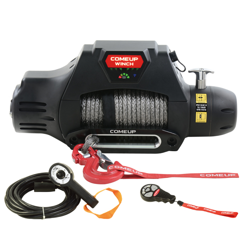 IP 68 waterproof winch