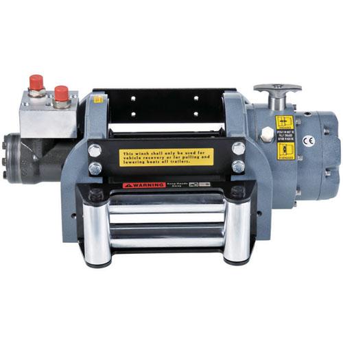 Industrial Winch / Hydraulic Recovery Winch (8,000 lb)