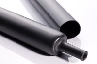 Medium wall adhesive-lined polyolefin tubing