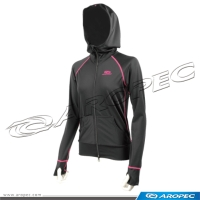 Lycra Hooded Jacket