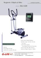 Magnetic Elliptical Bike