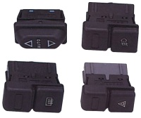 Switches in passenger compartment