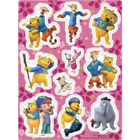 Raised Relief Stickers (Winnie the Pooh)