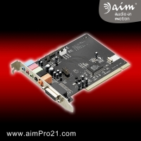 PCI Hi-Live Theater 5.1 Channel PC audio sound card