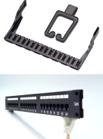 24 Ports UTP Cat.5e Patch Panel / 24 Ports UTP Cat.6 Patch Panel
