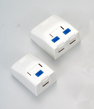 1-Port Surface Mount Box / 2-Port Surface Mount Box