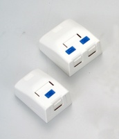 Cens.com 1-Port Surface Mount Box / 2-Port Surface Mount Box 允闰实业有限公司