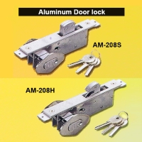 Aluminum Door Lock with 3 Keys.