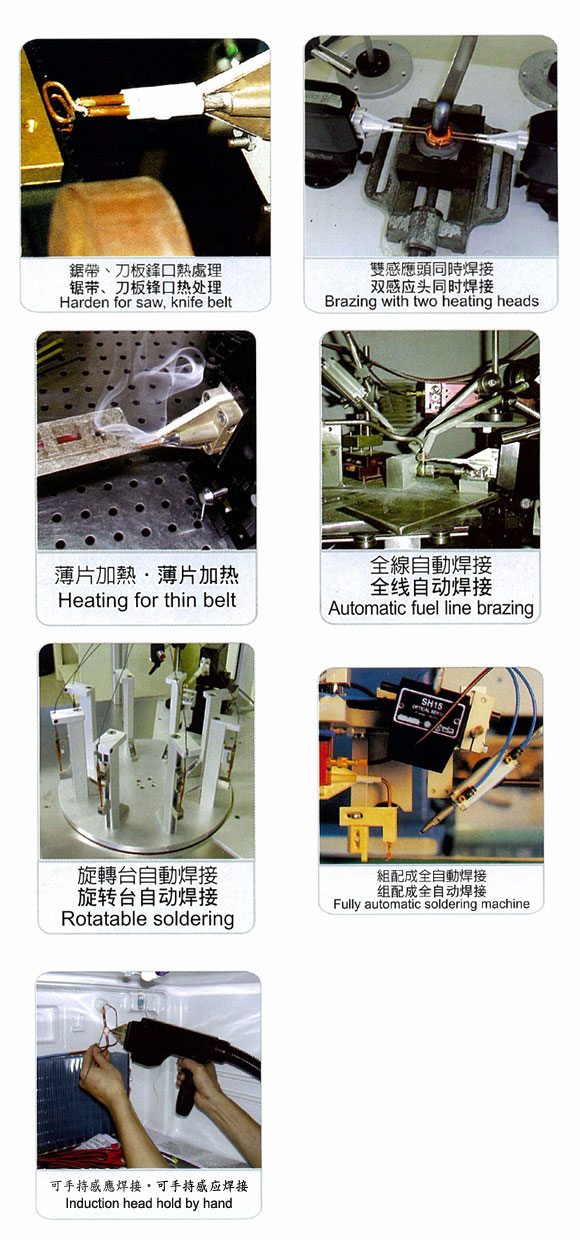 Power-Cube High-ER Frequency Inductive Heater for Brazing 3.2kw