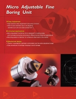 Micro Adjustable Fine Boring Unit