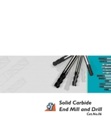 Solid Carbide End Mill and Drill