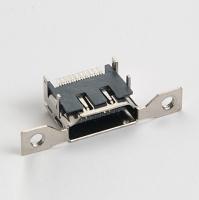 HDMI 19pin侧耳SMT型