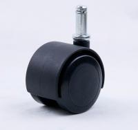 Compression released brake Castor