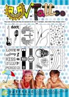 UV tattoo sticker