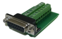 DB15 Female Connector for Field Termination