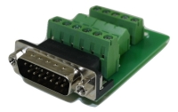 DB15 Male Connector for Field Termination