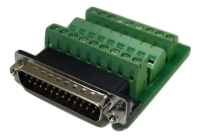DB25 Male Connector for Field Termination