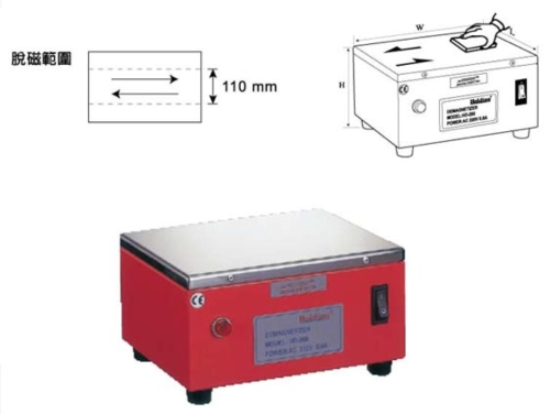 Stander Type Demagnetizer