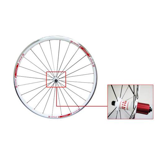 CONCEPT SPRINT白色跑车轮组