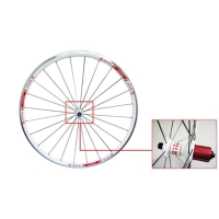CONCEPT SPRINT Wheel Set for White Road Bicycle
