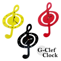 G-Clef Clock