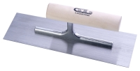 抹泥刀(圓木柄/高碳钢刀片)