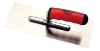 PLASTERING TROWELS(A SCOOP/ HIGH CARGON STEEL BLADE WITH PLASTIC HANDLE)