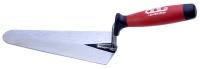 砌砖刀(前圓後尖刀片/雙色塑料手柄)