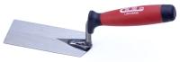 砌砖刀(前四角后尖刀片/双色塑料手柄)