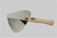 砌砖刀(桃形刀片/木柄)